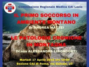 LOCANDINA SEMINARIO CAI ROMA 2